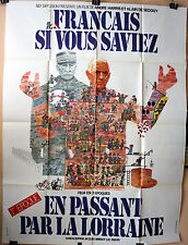 Art : Politzer : Français Si Vous Saviez 1 : POSTER