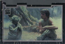 STAR WARS 30TH ANNIVERSARY TRIPTYCH MASTER AND APPRENTICE CARD PIECE 3