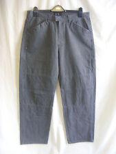 """Jeans da uomo-GUESS, 34""""W, 33.5""""L, grigio, come da combattimento, Casual, bordi Sbiadito 7015"""