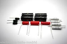CAPACITOR KIT FOR FENDER PRO-AMP 5E5 MODEL TUBE AMP - AMPLIFIER - AMPLIFICADOR