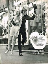 PUBLICITE ADVERTISING  1969   YOUTHCRAFT   soutien gorge PRESTIGE