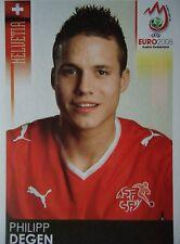 Panini 53 Philipp Degen Schweiz UEFA Euro 2008