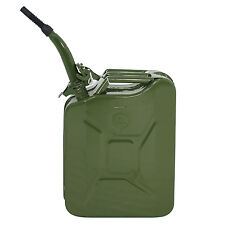 Jerry Can 5 Gallon 20L Fuel Steel Tank Emergency Backup Army Military