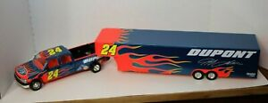Action Crew Cab and Show Trailer 1:24 Truck Jeff Gordon #24 - 1 of 408 (#052)