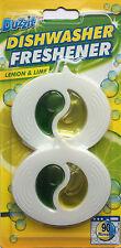 Duzzit LAVASTOVIGLIE Freshener Lemon & Lime 90 risciacqui Detergente per Pulire