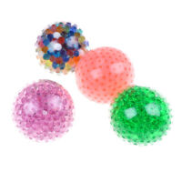 Spongy bead stress ball toy squeezable stress toy stress relief ball antik6