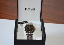 New Hugo Boss Black Round Dial Stainless Steel Case Men's Watch HB1512180