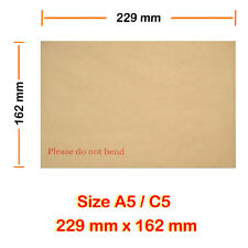 2000 A5 C5 Board Back Envelopes Manilla Please do not bend 24HR delivery Cheaper