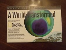 National Geographic Map A World Transformed Sept. 2002 Human Impact Water Soil