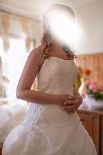 Abito Sposa taglia 42 44 modificabile - con velo e coprispalla