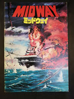 Midway - Movie Pamphlet for the 1976 Japanese release - A4 Format