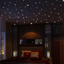 407pcs Glow in The Dark Star Round Dot Luminous Wall Stickers Kids Room Decor Du