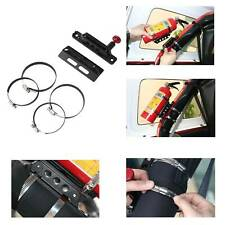 Fire Extinguisher Holder Mount Adjust Roll Bar Bottle Holder for Jeep Wrangler
