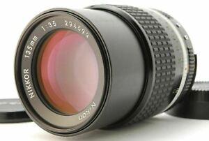 Near MINT/ NIKON Ai-s 135mm F3.5 NIKKOR Lens MF SLR 35mm from Japan