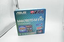 NEW PC ASUS M4A785TD-M EVO Socket AM3 Chipset AMD 785G DDR3 Desktop Motherboard
