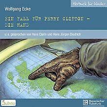 Ein Fall für Perry Clifton: Die Hand. CD von Ecke, Wolfgang   Buch   Zustand gut