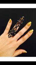 Full finger ring,shield ring,armor ring,Crystal Ring,black armor ring