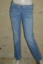 MELTIN POT Taille 36 Superbe pantalon jeans jean denim REVERSIBLE femme bleu