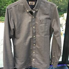 tommy hilfiger shirt Denim Range Small Soft Grey