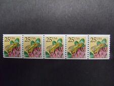 US Postage Stamps 1988 Honeybee Coil Stamp Scott 2281 5-25¢