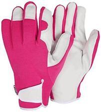 Briers Lady Gardener Bo223 Pink Gardening Gloves Medium Size 8