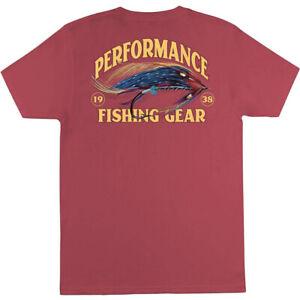 Columbia Mens Big & Tall Reily Casual S/S Screenprint T-Shirt Sunset Red 2X NWT