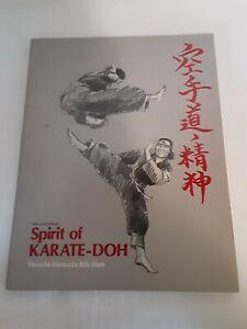 Spirit of Karate-Doh book by Hiroshi Hamada