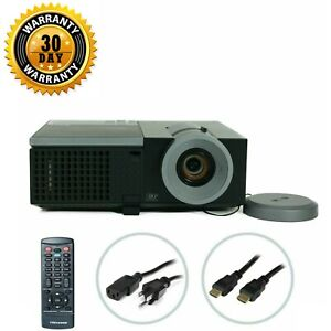 Dell 4210X DLP Projector Conference Room 3500 ANSI HD HDMI 1080p bundle