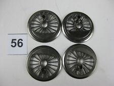 Fleischmann-Dampflokräder,  Ladegut oder Deko., Spur H0, Ø 18,8 mm, 4Stück (56)
