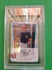 BRYCE HARPER 2011 BOWMAN CHROME CARD #111  (ROOKIE GREEN XFRACTOR) GEM 9.5
