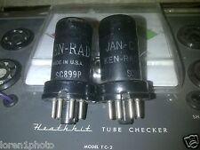 ( 2 ) Ken-Rad 6Ac7 Vt-112 Transmitter Ham Radio tubes Tested Very Good!