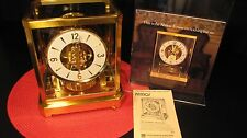 STUNNING SWISS JAEGER LeCOULTRE ATMOS CLOCK MODEL 528-6, WILL NOT STAY RUNNING