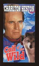 """CALL OF THE WILD"" VHS, 1992 JACK LONDON'S CLASSIC - CHARLTON HESTON"