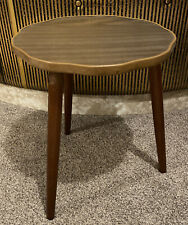 Vintage Mid Century Side Table / Plant Stand with Formica Top