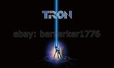 Tron Jeff Bridges 1980's 3'x5' Black movie poster Flag Horizo USA Seller Shipper