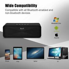 Haut Parleur Enceinte Portable Bluetooth Sans Fil Port Aux USB SD Microphone HD