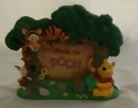Disney Winnie The Pooh Tigger Piglet 3D Photo Picture Frame Tree House