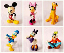 6X Mickey Mouse Clubhouse action Figure Set Minnie Toy Cake Topper Toy Boy Girl