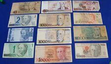 BRASIL BRASILIEN  - Banknoten Lot 24 Circulated - Mix Types