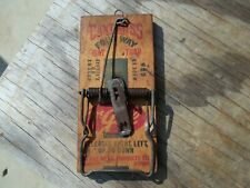 Made in USA Old Wood McGill Can't Miss 4 Way Rat Trap GWC FREE SHIP Wooden
