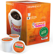 Dunkin Donuts Keurig K-Cups, Dunkin' Decaf Coffee, 96 Count Expired 02/12/2018