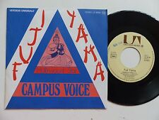 FUJI YAMA Campus voice UP 35783  FRANCE  Discotheque RTL