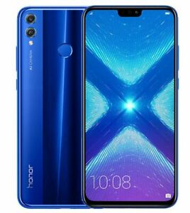 Honor 8X Smartphone - 128GB - Blau (Ohne Simlock) - Android 10, LTE, Dual Sim