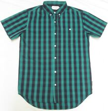$75 NWT Mens Diamond Supply Co. Button Down Shirt Bundy Striped Woven Sz M N113