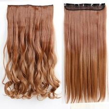 """100% Real 1Pcs Clip In Hair Extensions Real Natural 17-30"""" Ombre Hairpiece Hc5"""
