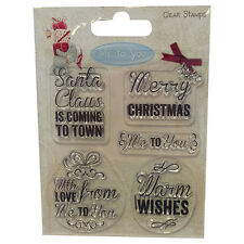 Me to You Christmas Clear Stamps - Santa Claus