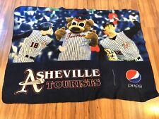 MiLB Asheville Tourists SGA Ted  Mascot Fleece Blanket Colorado Rockies Pepsi A4