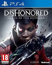 Dishonored Death of the Outsider For PS4 (New & Sealed)