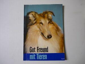 Sammelalbum Köllnflocken Bilder - Gut Freund mit Tieren II - 1962 - komplett