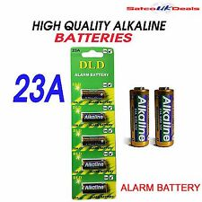 5 X ALARM BATTERY 23A A23 MN23 Car Alarm Remote Super Alkaline 12v battery NEW